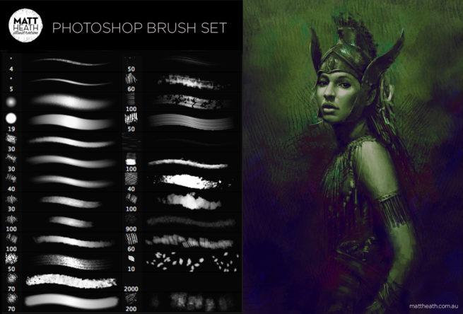 Photoshopのブラシ素材が無料,フリーでダウンロードできるサイト100選+2018年最新!