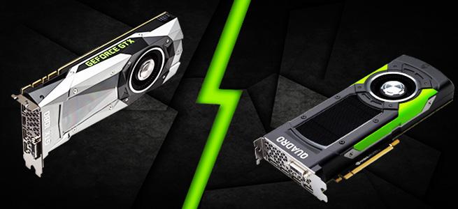 GeForce(GTXシリーズ)とQuadroの違いを比較。CGやAdobeソフトとグラフィックボードの互換性