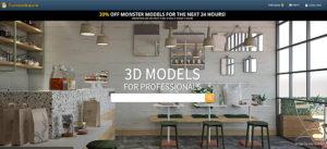 3Dモデルが無料,フリーでダウンロードできるサイト25選!CG素材