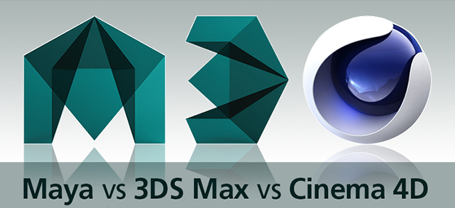 CGソフト比較!Maya vs Max vs Cinema4D
