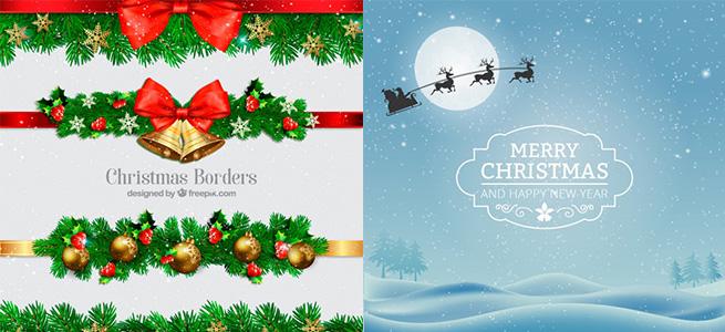 2018年最新:無料高品質なクリスマスのベクター素材100選+!ダウンロードフリー,まとめ