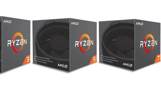 AMD Ryzen プロセッサー人気ランキング!2019年最新版