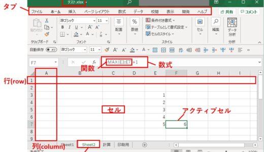 Excelの基本操作【第2章,難易度★☆☆☆☆基本編 】